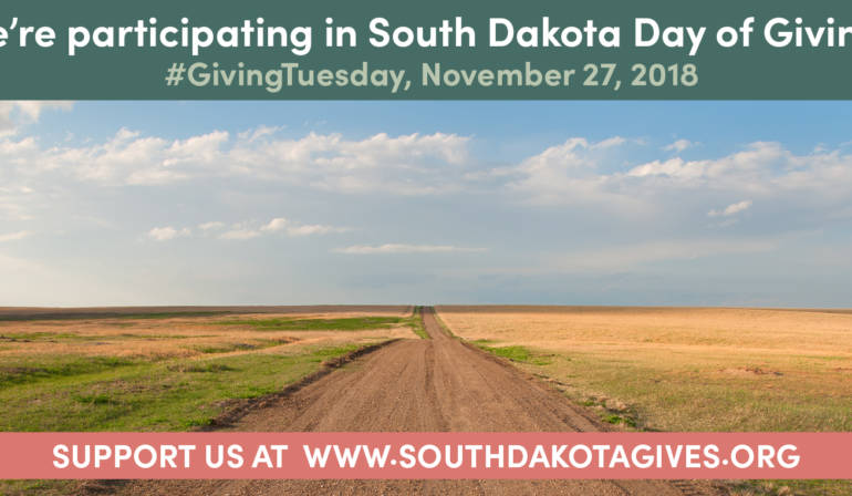 We're Joining 53 Counties on South Dakota Day of Giving!